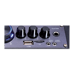 Speaker wireless MEDIACOM - Music box trolley speaker bluetooth