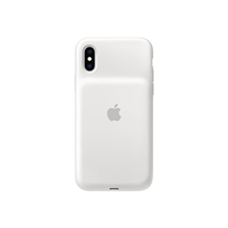 Cover Apple - Smart Battery Case per iPhone X - Bianco