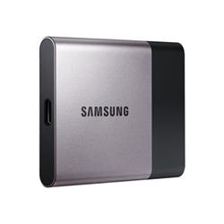 Disque dur interne Samsung Portable SSD T3 MU-PT250B - Disque SSD - chiffré - 250 Go - externe (portable) - USB 3.1 Gen 1 - AES 256 bits
