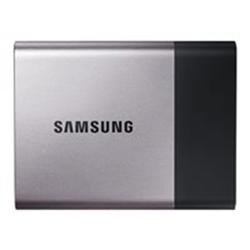 Disque dur interne Samsung Portable SSD T3 MU-PT500B - Disque SSD - chiffré - 500 Go - externe (portable) - USB 3.1 Gen 1 - AES 256 bits