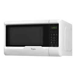 Micro ondes Whirlpool MWD 122 WH - Four micro-ondes grill - pose libre - 20 litres - 700 Watt - blanc