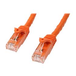 Cavo di rete Startech - Startech.com cavo patch antigroviglio utp rj45 cat6 gigabit 3 m arancione n6pat