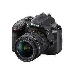Fotocamera reflex Nikon - D3400 - fotocamera digitale obiettivo af-s dx vr da 18-105mm nd3405