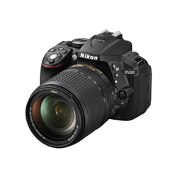 Fotocamera reflex Nikon - D5300 kit afp 18-55 70-300 + sd8gb.