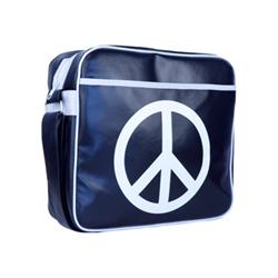 "Borsa Urban Factory - Peace & love laptop bag 12.5"" blue borsa trasporto notebook pal03uf"