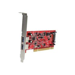 Scheda PCI Startech - Startech.com scheda pci con 2 porte usb 3.0 superspeed con alimentazione sata p