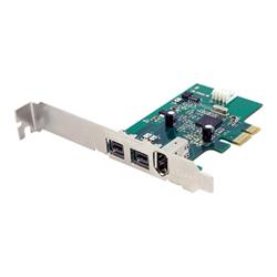Scheda PCI Startech.com scheda adattatore pci express firewire 2b 1a 1394 a 3 porte pex139