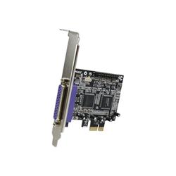 Scheda PCI Startech - Startech.com scheda adattatore parallela pci express a 2 porte/pci-e pex2pecp2