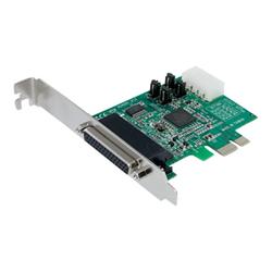 Scheda PCI Startech.com scheda seriale pci express nativa a 4 porte rs 232 con 16950 uart