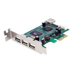 Scheda PCI Startech.com scheda pci express basso prfilo con 4 porte usb 2.0 ad alta veloci