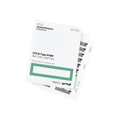 Hewlett Packard Enterprise - Hpe lto-8 ultrium rw bar code label pack - etichette per codici a barre q2015a