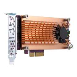 Controller raid Qnap - Storage controller - pcie 3.0 - pcie 3.0 x8 qm2-2p-384