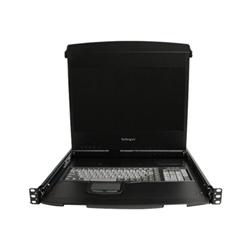 Startech - Startech.com console 1u per montaggio a rack con binari a doppio scorrimento da