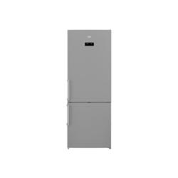 Réfrigérateur Beko RCNE520E41ZX - Réfrigérateur/congélateur - pose libre - largeur : 70 cm - profondeur : 70 cm - hauteur : 192 cm - 454 litres - congélateur bas - Classe A+++ - inox