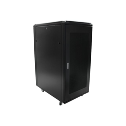"Startech - Startech.com armadio server chiuso a ribalta 25u da 36"" con ruote rk2536bkf"