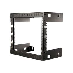 Startech - Startech.com rack 8u a giorno per montaggio attrezzature a parete rk812wallo