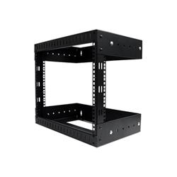Startech.com rack 8u a giorno per montaggio attrezzature a parete rk812walloa