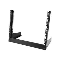 Startech - Startech.com armadio server rack con 2 staffe a telaio aperto 8u rk8od