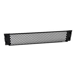 Startech - Startech.com pannello cieco di chiusura per armadi e rack con fessure e cernier