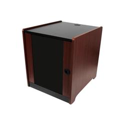 Startech - Startech.com armadio server rack 12u rifinito in legno con rotelle a profondita
