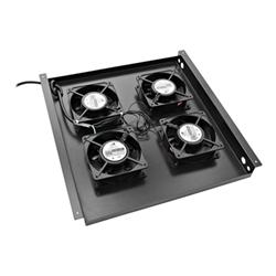 V7 - Cassetto ventole rack con 4 ventole rm4fantray-1e