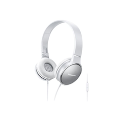 Cuffie con microfono Panasonic - RP-HF300ME Bianco