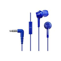Auricolari con microfono Panasonic - RP-TCM105E Blu