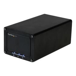 Box hard disk esterno Startech.com box esterno a doppio alloggiamento disco rigido da 2,5'' s252bu313r
