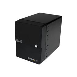Box hard disk esterno Startech.com box case esterno per 4 hard disk sata iii da 3,5'' con interfacce e