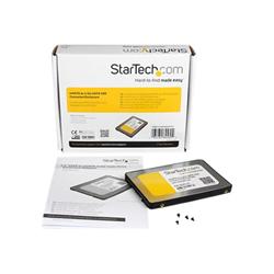 Box hard disk esterno Startech.com box esterno adattatore da sata a mini sata per ssd da 2,5'' sat2msa