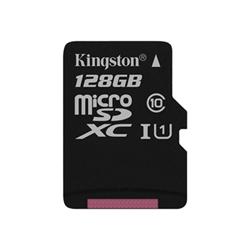 Micro SD Kingston - Canvas select - scheda di memoria flash - 128 gb - uhs-i microsdxc sdcs/128gbsp