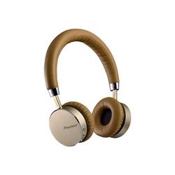 Pioneer SE-MJ561BT - Casque - pleine taille - sans fil - Bluetooth - NFC* - brun