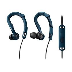 Philips ActionFit NoLimits SHQ3405BL - Écouteurs - intra-auriculaire - montage sur l'oreille - jack 3,5mm - isolation acoustique