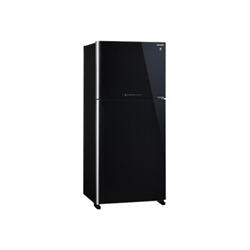 Frigorifero Sharp - SJ-XG690GBK Doppia porta Classe A++ 82 cm No Frost Vetro nero