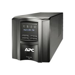 Gruppo di continuità APC - Smart-ups - ups - 500 watt - 750 va - con apc smartconnect smt750ic