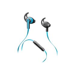 Auricolari con microfono Cellular Line - Sport Spring Azzurro