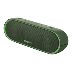 Speaker Wireless Bluetooth Sony - SRS-XB20 Verde