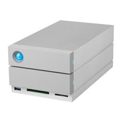 Hard disk esterno LaCie - 2big dock thunderbolt 3 - array unità disco rigido stgb8000400