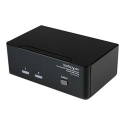 Switch kvm Startech - Switch kvm dual dvi usb 2