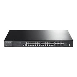 Switch TP-LINK - Switch - 28 porte - gestito - montabile su rack t3700g-28tq