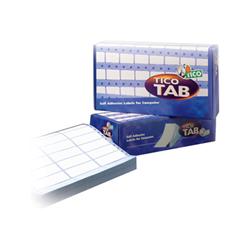 Image of Etichette Tab - etichette a modulo continuo - opaca - 4000 etichette tab1-0723