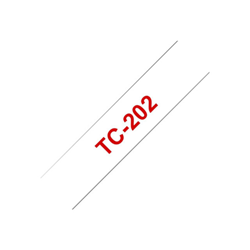 Nastro Brother - 1 pezzi - rotolo (1,2 cm x 7,7 m) - nastro stampante tc-202