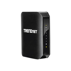 Router Trendnet - N600 high power dual band wire-