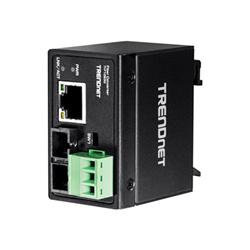 Antenna TV Trendnet - Media converter per fibra - 10mb lan, 100mb lan ti-f10s30