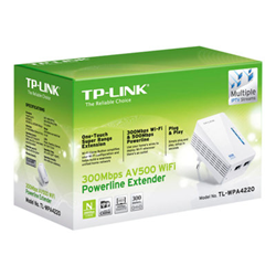 Power line TP-LINK - Bridge - 802.11b/g/n - collegabile a parete tl-wpa4220