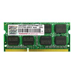 Memoria RAM Transcend - 2gb ddr3 1333 so-dimm 2rx8