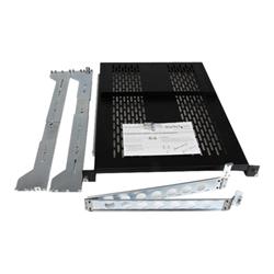 Startech - Startech.com ripiano scorrevole ventilato 2u con sistema gestione cavi unisldsh