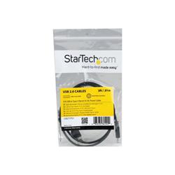 Startech.com cavo di alimentazione 5v usb a barilotto tipo h 90 cm usb2typeh