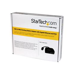 Docking station Startech - Startech.com mini docking station universale usb 3.0 a vga e gigabit ethernet r