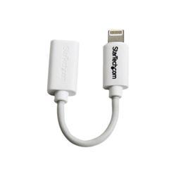 Adattatore Startech.com adattatore connettore micro usb a lightning apple a 8 pin bianco p